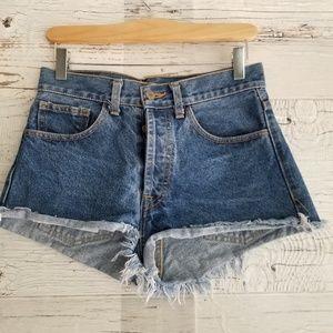 John Galt Brandi mellvile highrise Jean shorts